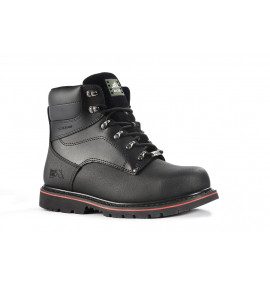 "Rock Fall Ashstone Black 6"" Safety Boot"