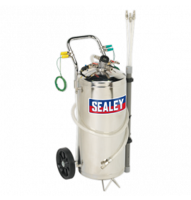 Air Operated Fuel Drainer (40 Litres - Stainless Steel)