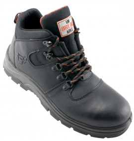 Unbreakable U111 Force S1P SRC Black Leather Safety Boot