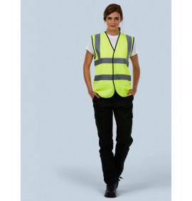 Uneek Unisex Sleeveless Safety Waist Coat