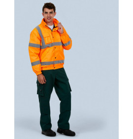 Uneek Unisex High Visibility Bomber Jacket