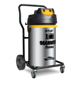 V-TUF MAMMOTH STAINLESS HIGH PERFORMANCE WET & DRY VACUUM CLEANER