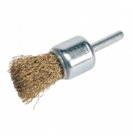 Flat Top Decarbonising Brush 25mm