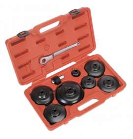 Oil Filter Cap Wrench Set 9pc (Commercials)