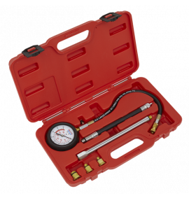 Petrol Engine Compression Tester Deluxe Kit 6pc