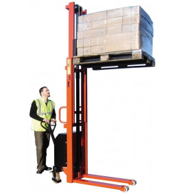 1000kg Heavy Duty Electric Lift Pallet Stackers