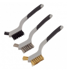 Wire Brush Set 3pc Miniature