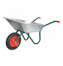Wheelbarrow 65ltr Galvanized