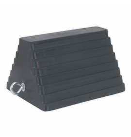 Rubber Wheel Chock 4.3kg - Single
