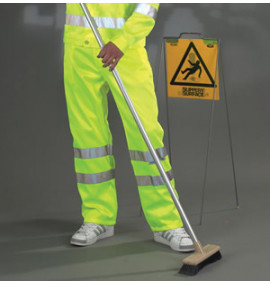 HiVis Polycotton Working Trousers