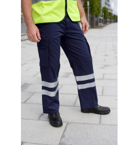 Harbour Lights Cargo Trouser with HiVis Strips
