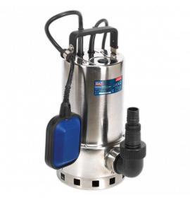 Submersible Stainless Water Pump Automatic Dirty Water 225ltr/min 230V