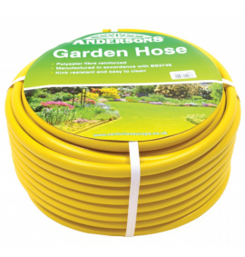 50m Reinforced Yellow Hose
