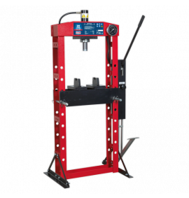 Hydraulic Press Premier with Foot Pedal - Floor Type (20 Tonne)