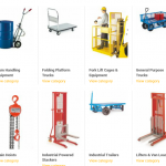 Handling and Lifting Equipment
